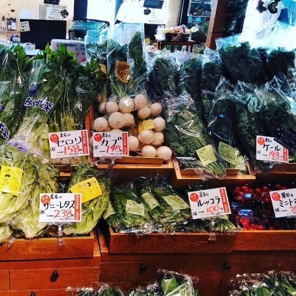 川島省吾ハピマルシェで買える野菜が安くて美味しそう!
